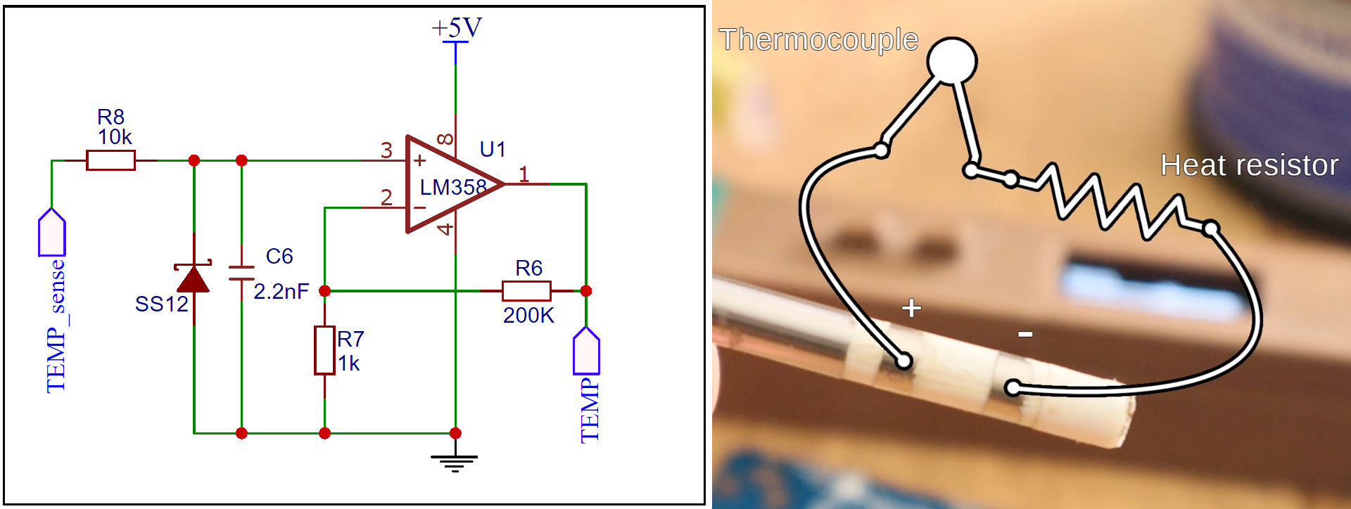 arduino T12 opamp temperature