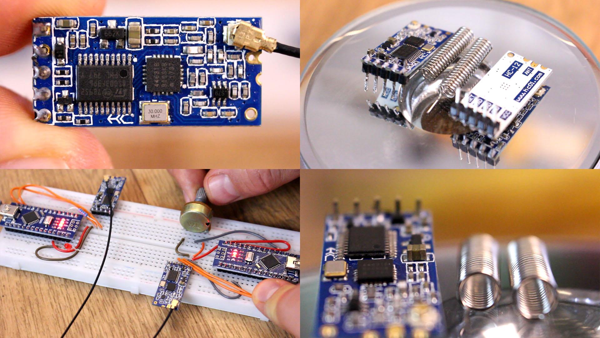 Arduino HC12 example 2019 library range
