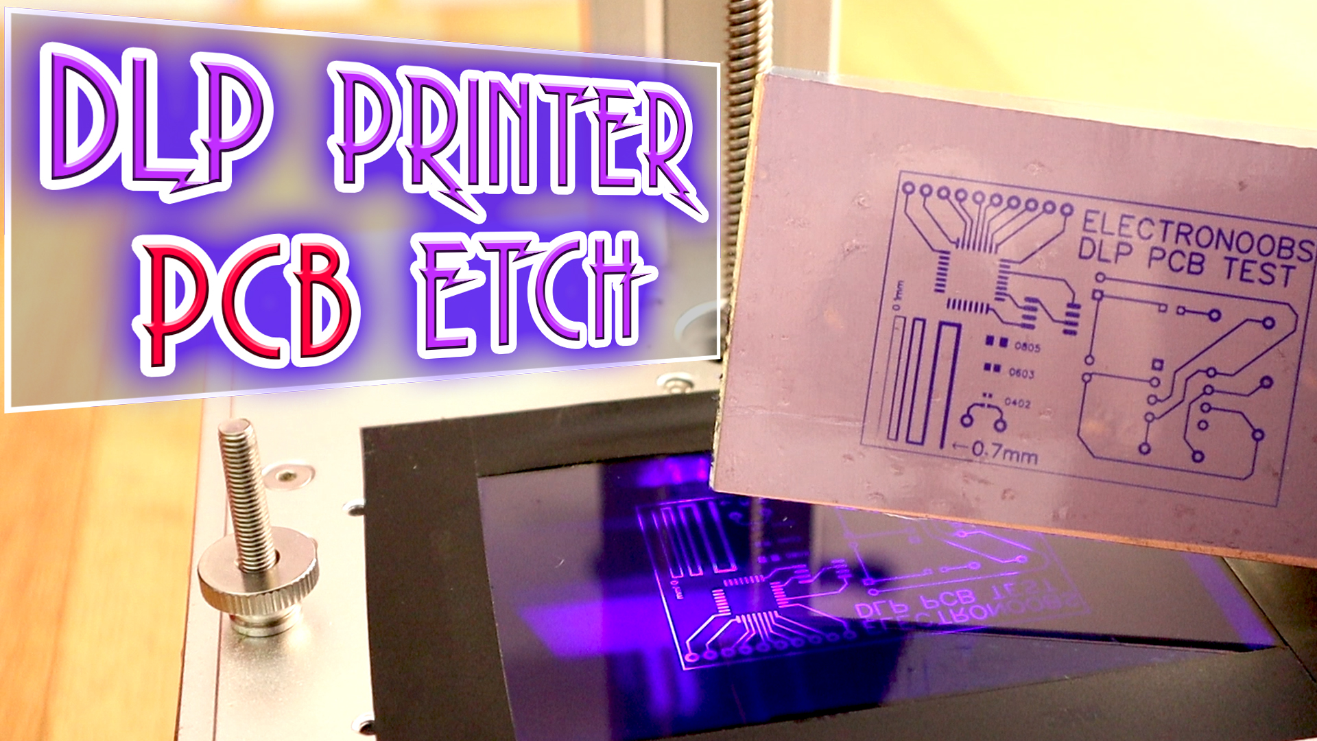 Electronoobs Electronics Tutorials Arduino Basic Circuits 3d Easy To Make Your Own Pcb39sprinted Circuit Boards Youtube New Tutorial On How Use A Dlp Printer Etch High Details Pcb Using Uv Sensitive Film And Light