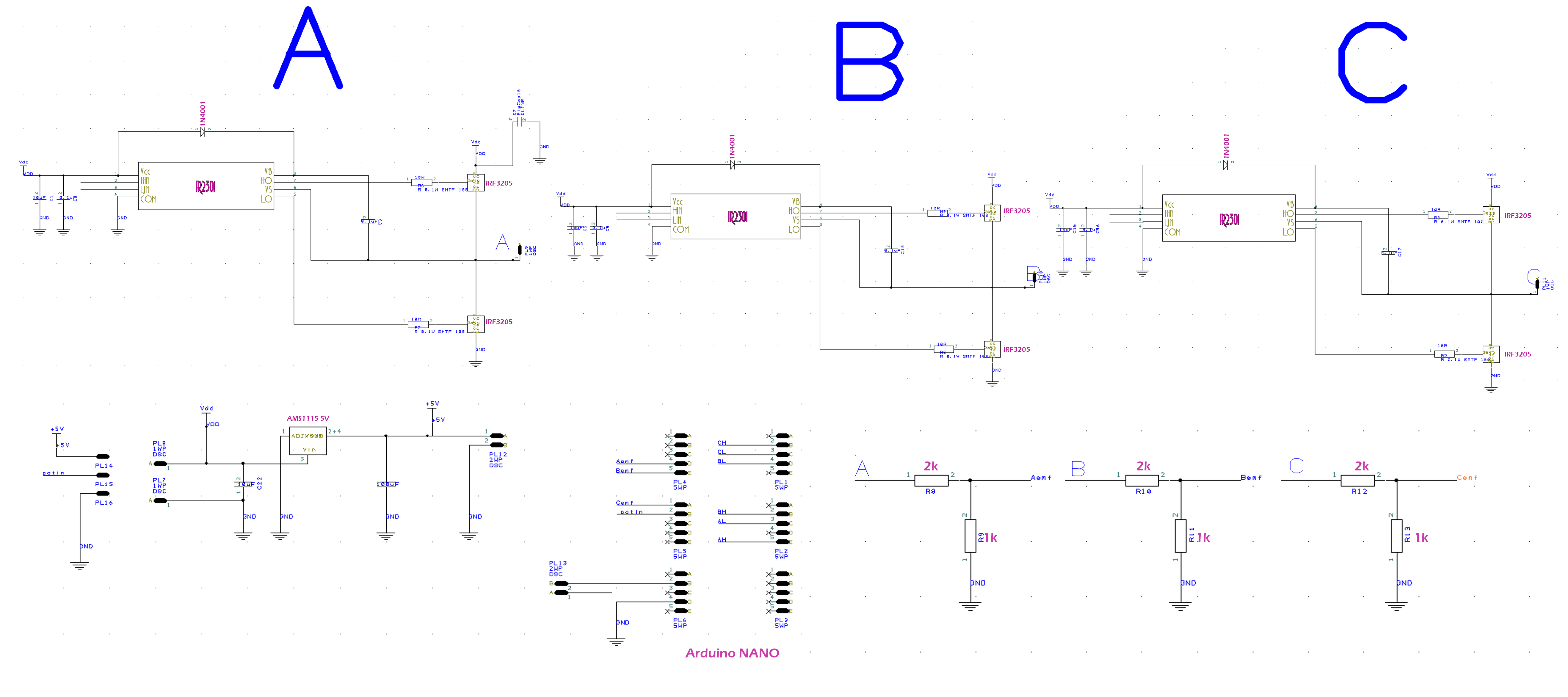 Electronic speed controller with arduino HOMEMADE